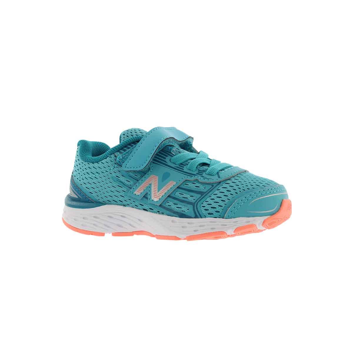 Infants' 680v5 ozne blu/fiji sneakers-  Wide