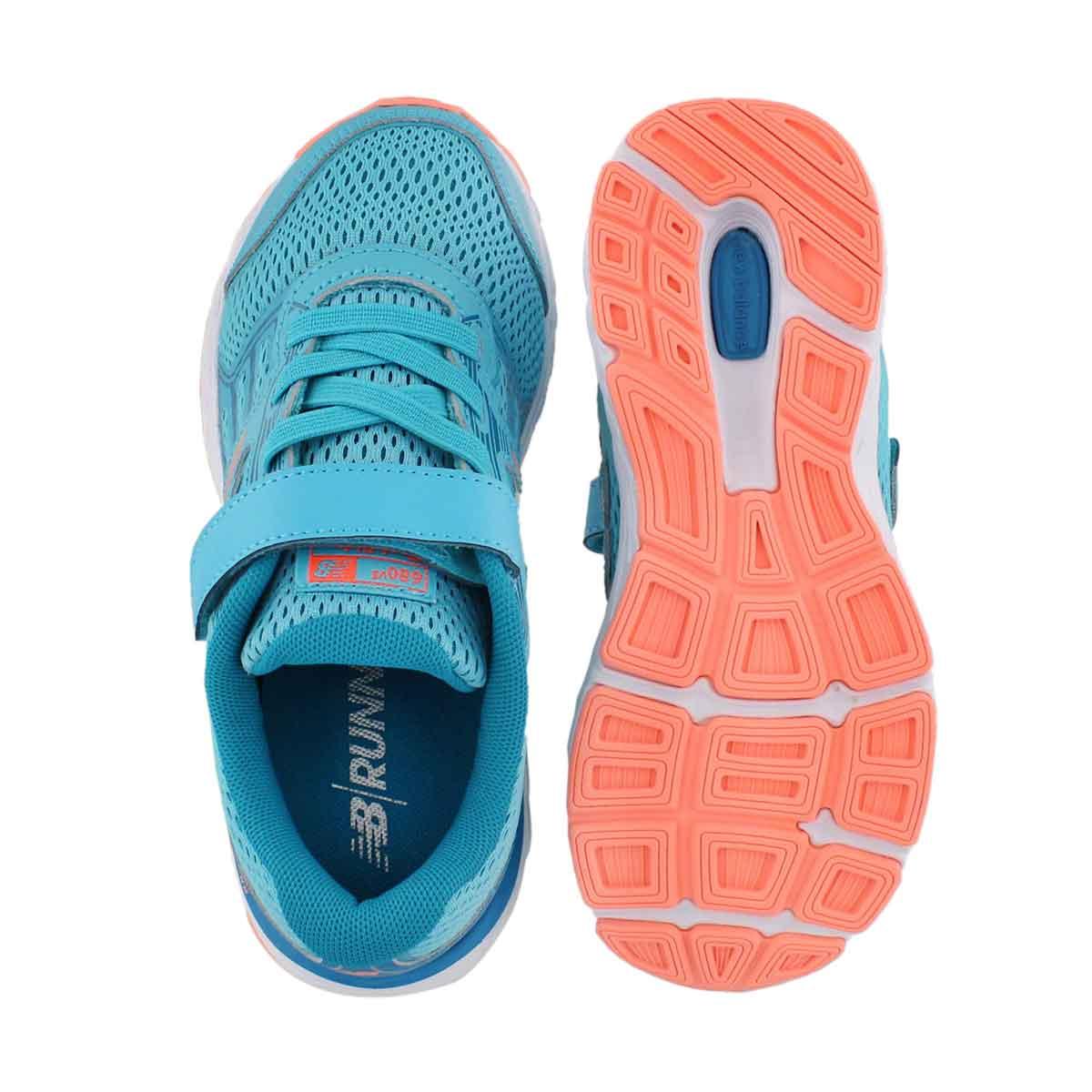 Grls 680v5 ozne blu/fiji sneaker-wide