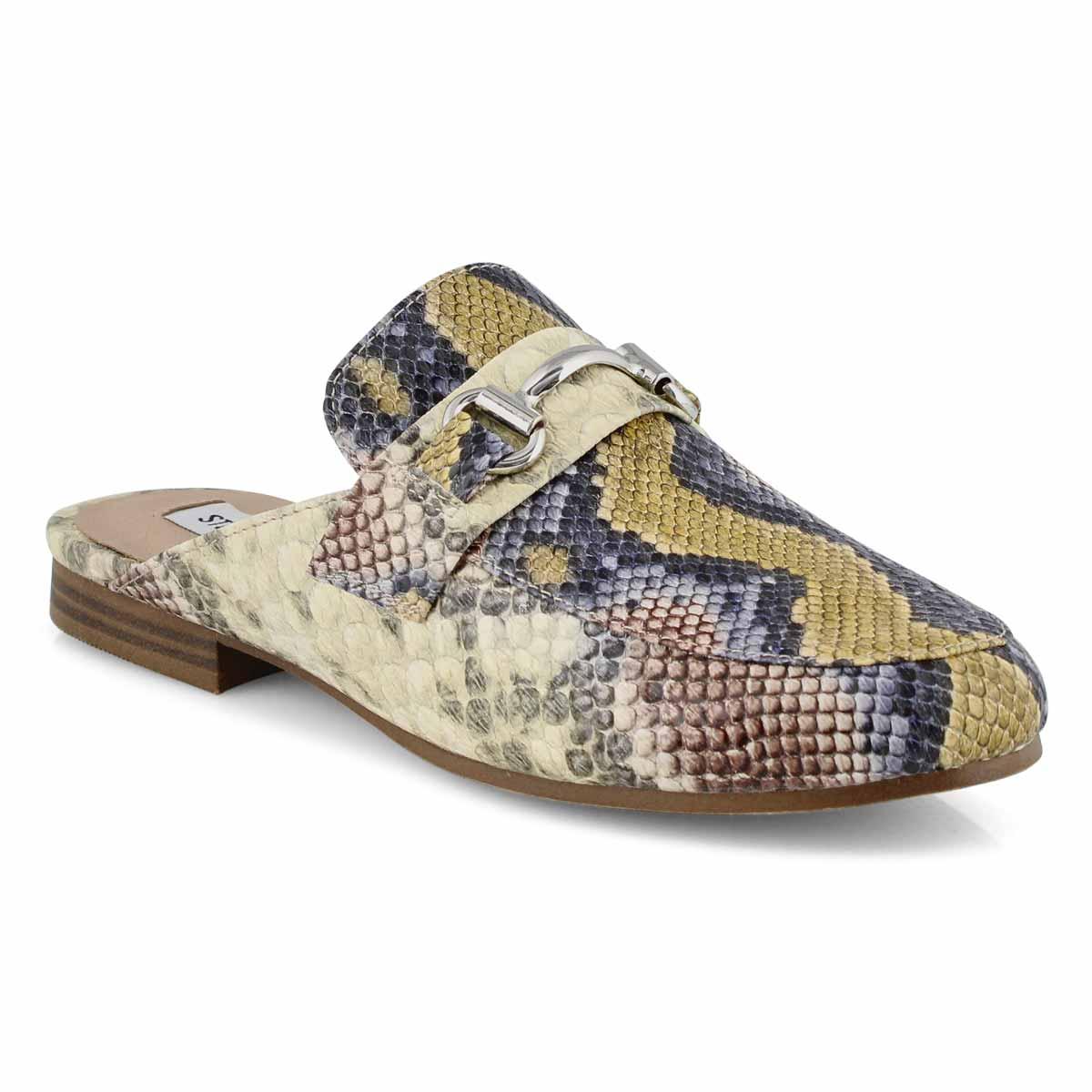 Lds Kandi yellow mlt slipon dress loafer