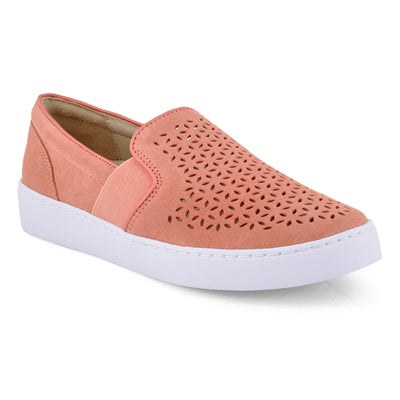 Lds Kani coral casual slip on loafers