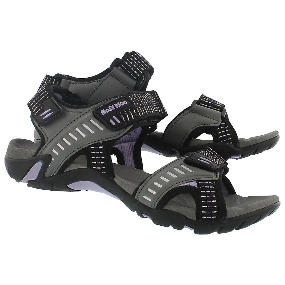 Sandale sport Kara, ardoise, femmes