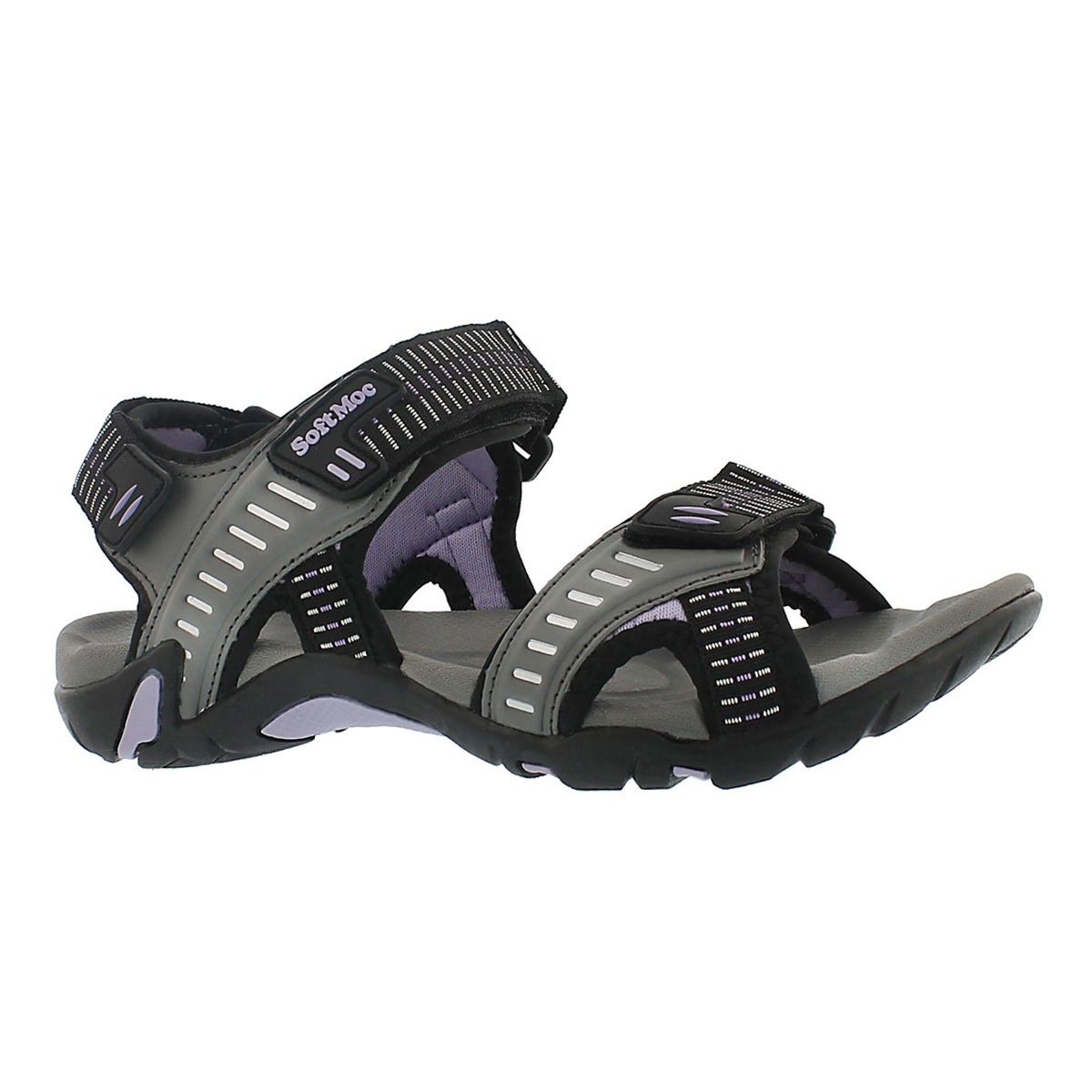Lds Kara slate 3 strap sport sandal