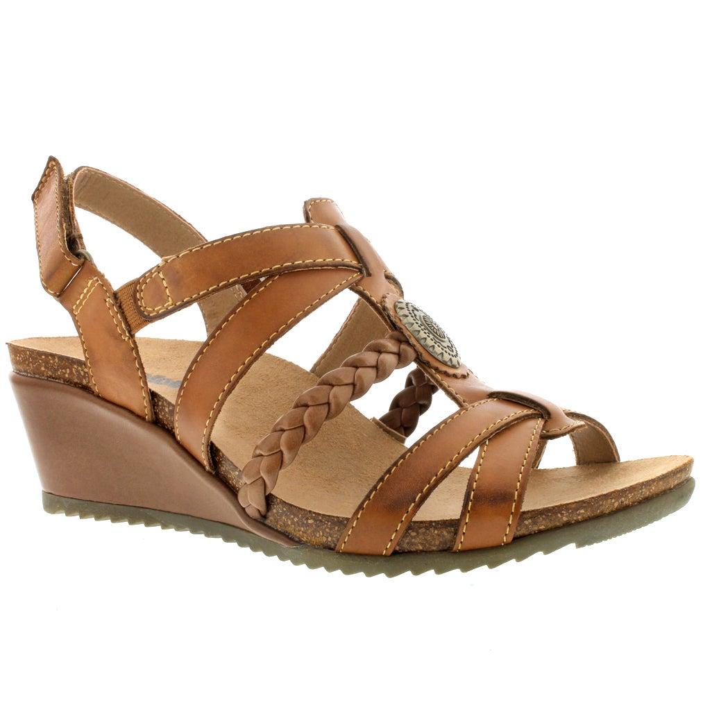Sandale comp brun KATIE, fem