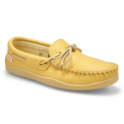 Mns moose hide moccasin with sole