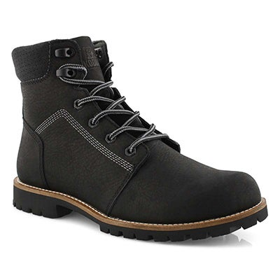 Mns Thompson black wtpf ankle boot