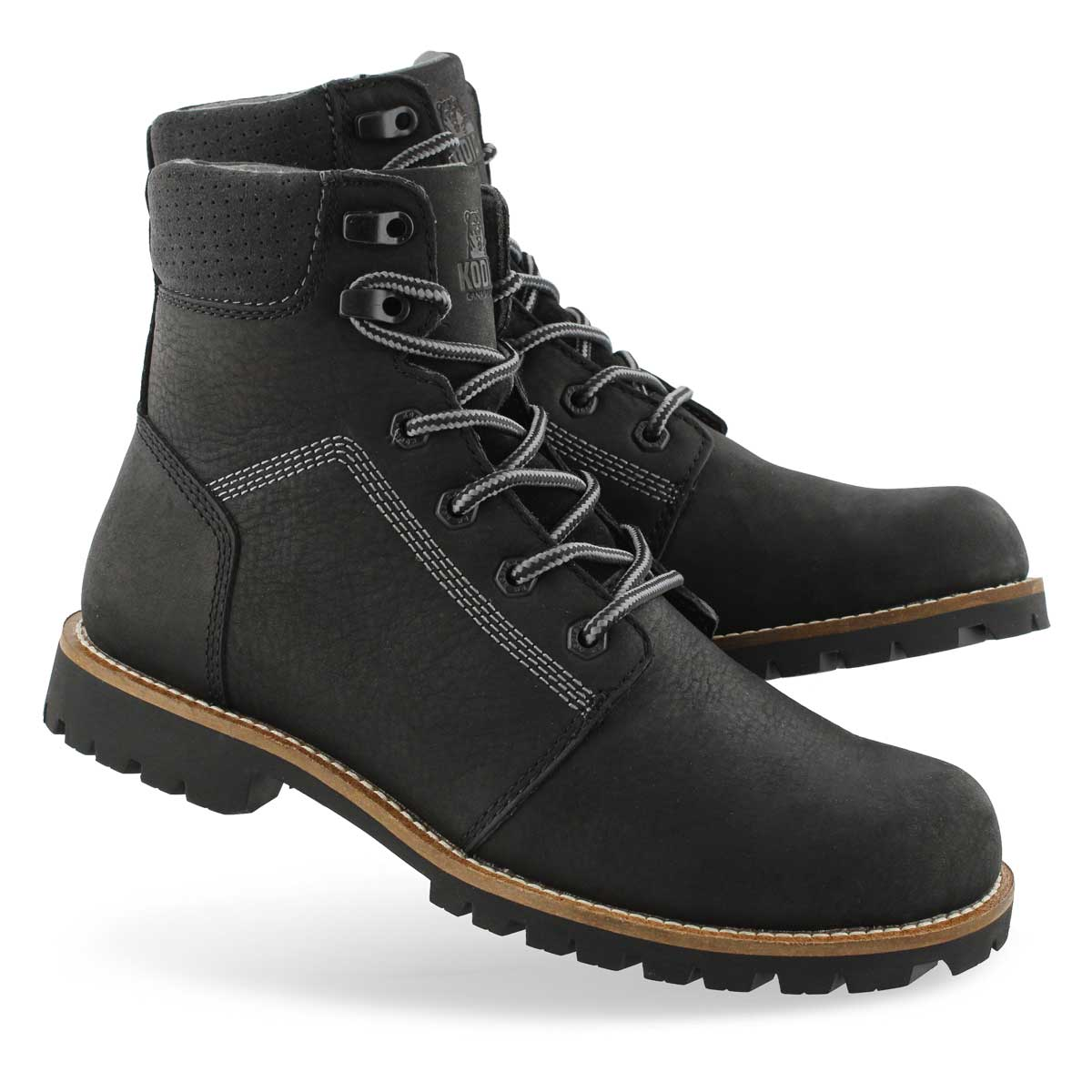Mns Thompson black wtpf ankle boot