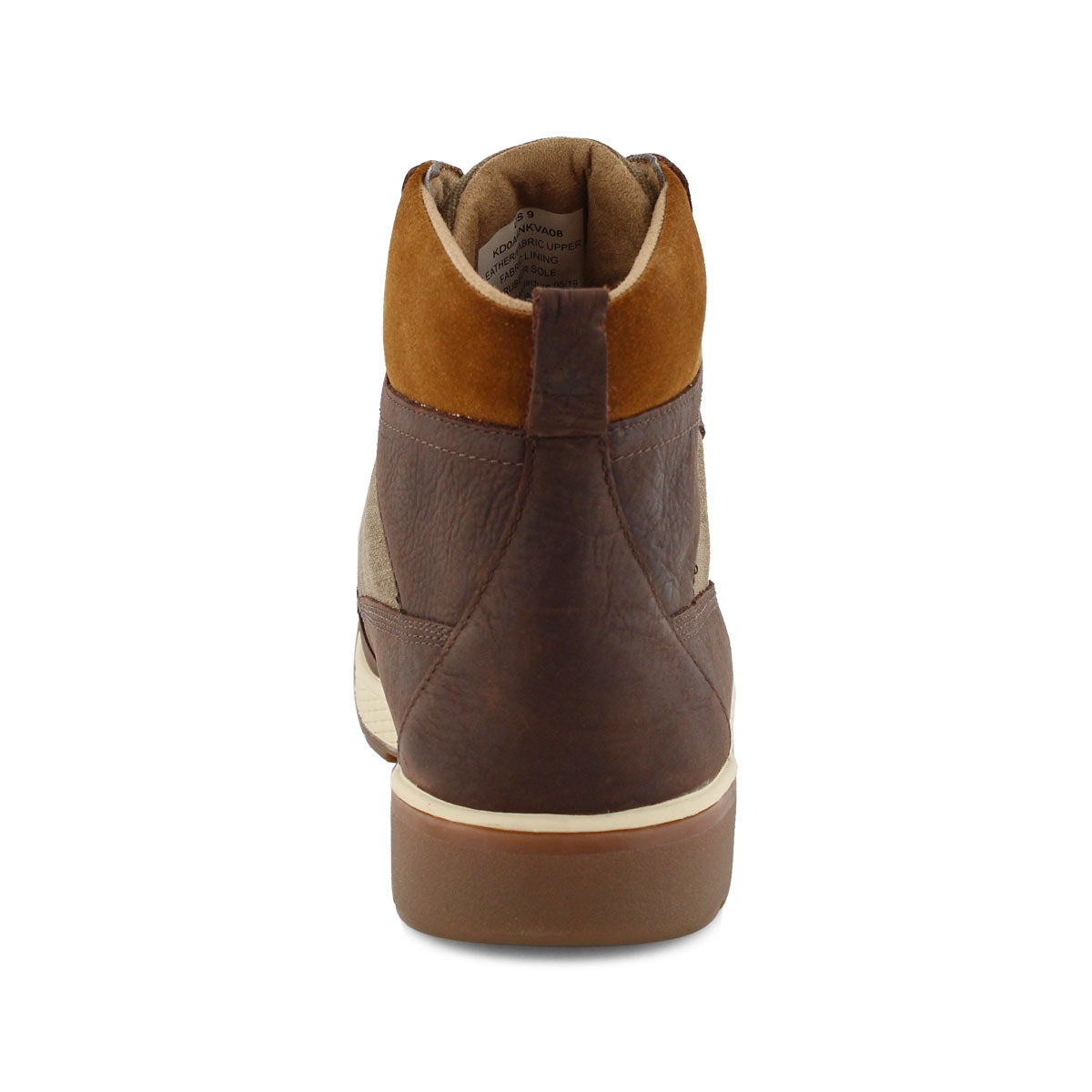 Men's FUNDY brown waterproof ankle boots