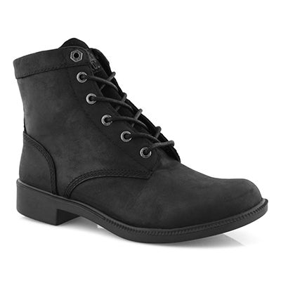 Lds Original black wp lace up ankle boot