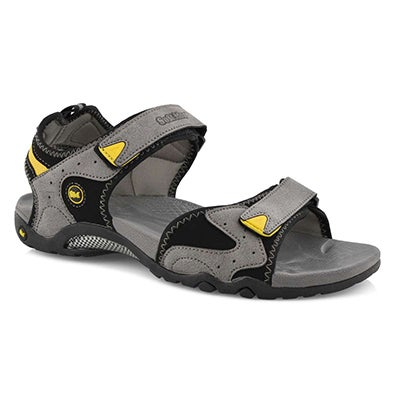 Mns Kedge 2 grey 3 strap sport sandal