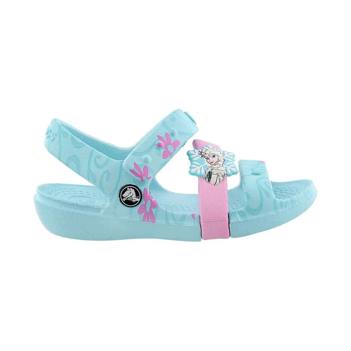Grls Keeley Frozen Fever blue sandal