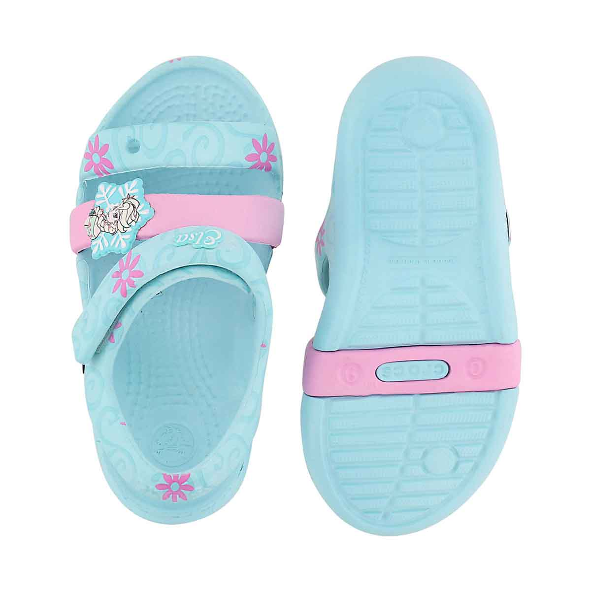 Grls Keeley Frozen Fever blue sandal