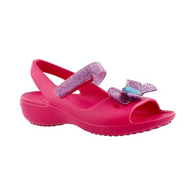 Crocs Sandales KEELEY SPRINGTIME MINI WEDGE, filles