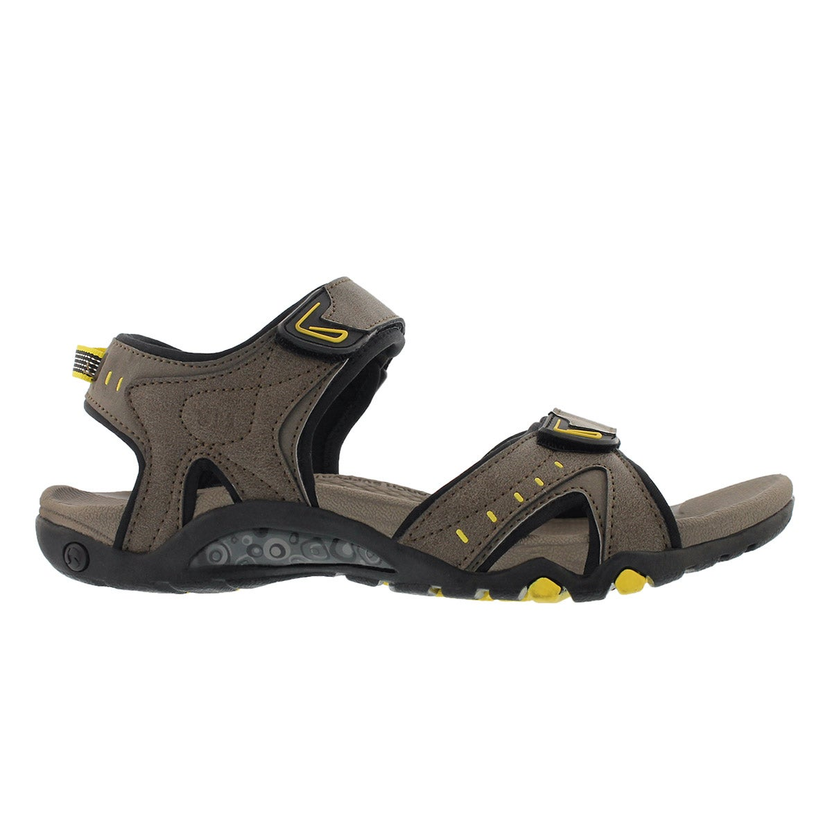 Mns Keith Taupe 3 strap sport sandal