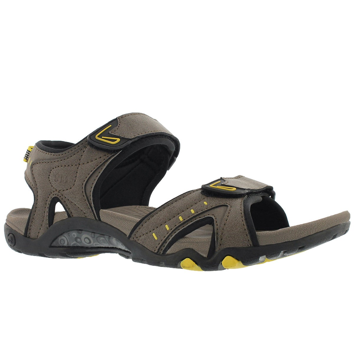 Men's KEITH taupe 3 strap sport sandals