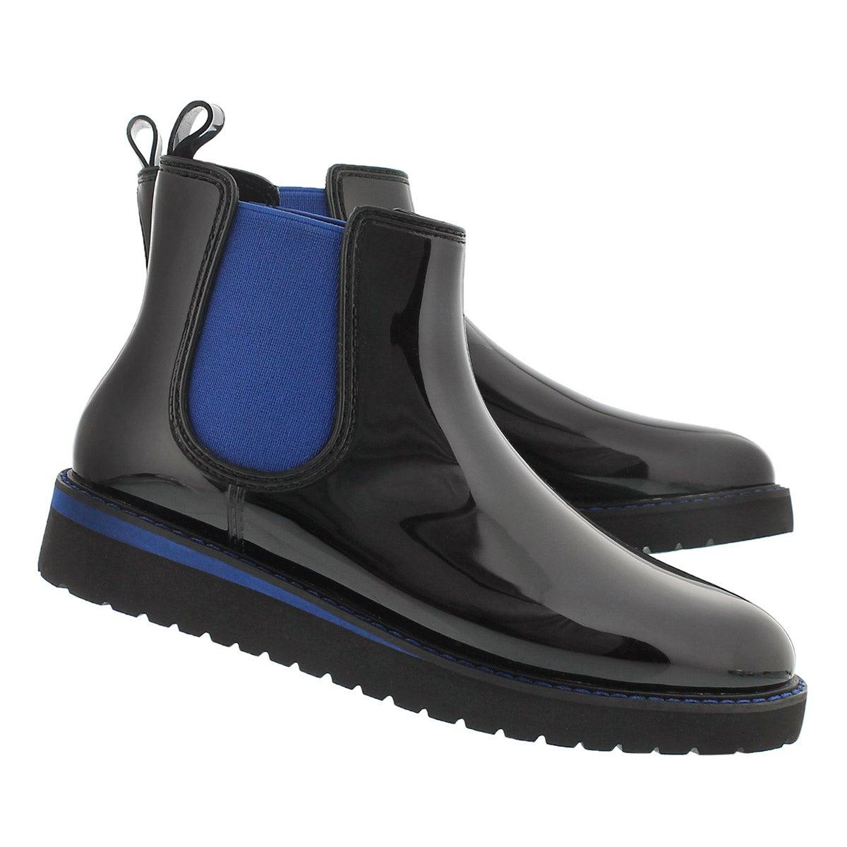 Lds Kensington blk/blu wtpf chelsea boot