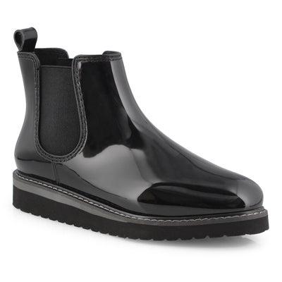 Lds Kensington blk/cha wtpf chelsea boot