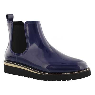 Cougar Women's KENSINGTON navy waterproof chelsea boots