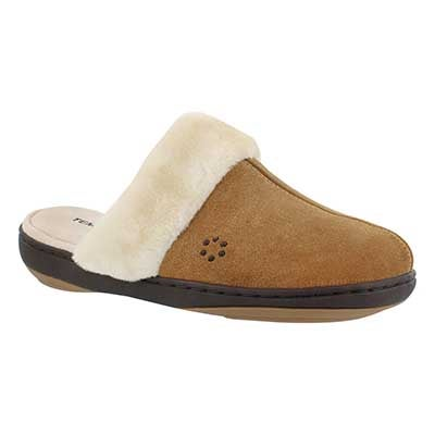 Tempur-Pedic Women's KENSLEY hashbrown open back slippers