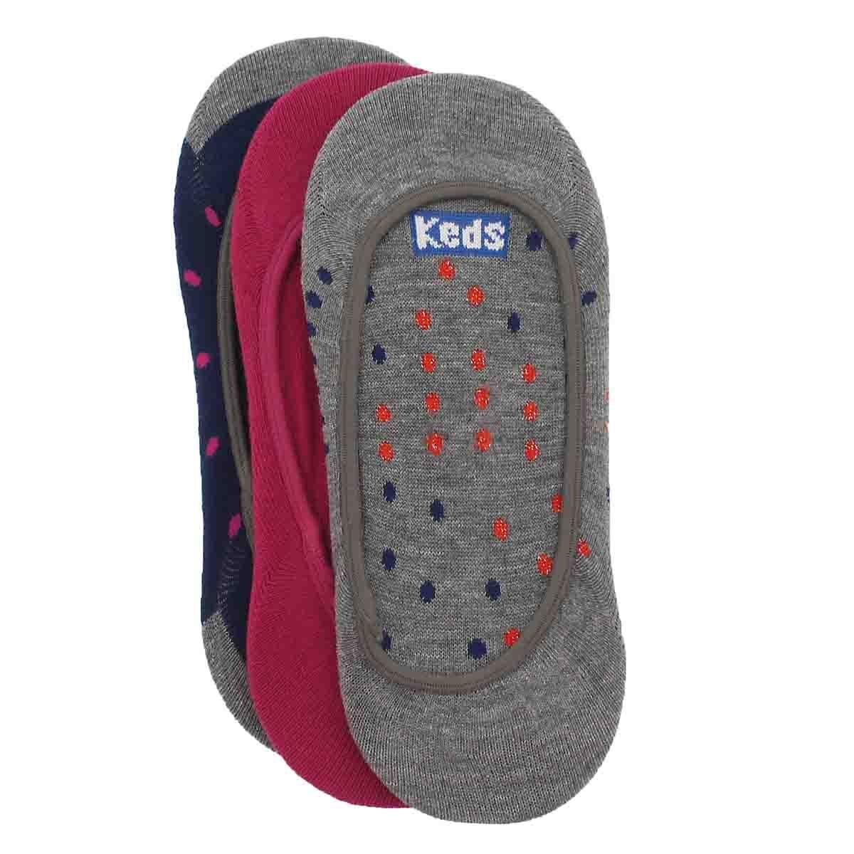 Women's NIGHT SHOWER multi skimmer socks - 3 pack