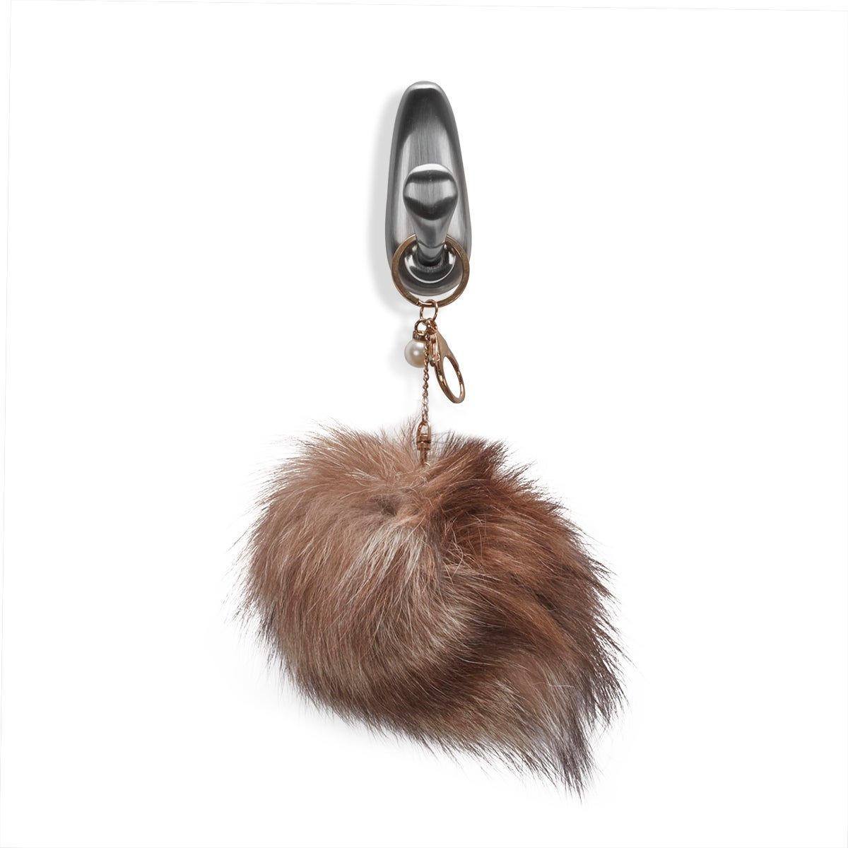 Tan KEYCHAINPOM accessory