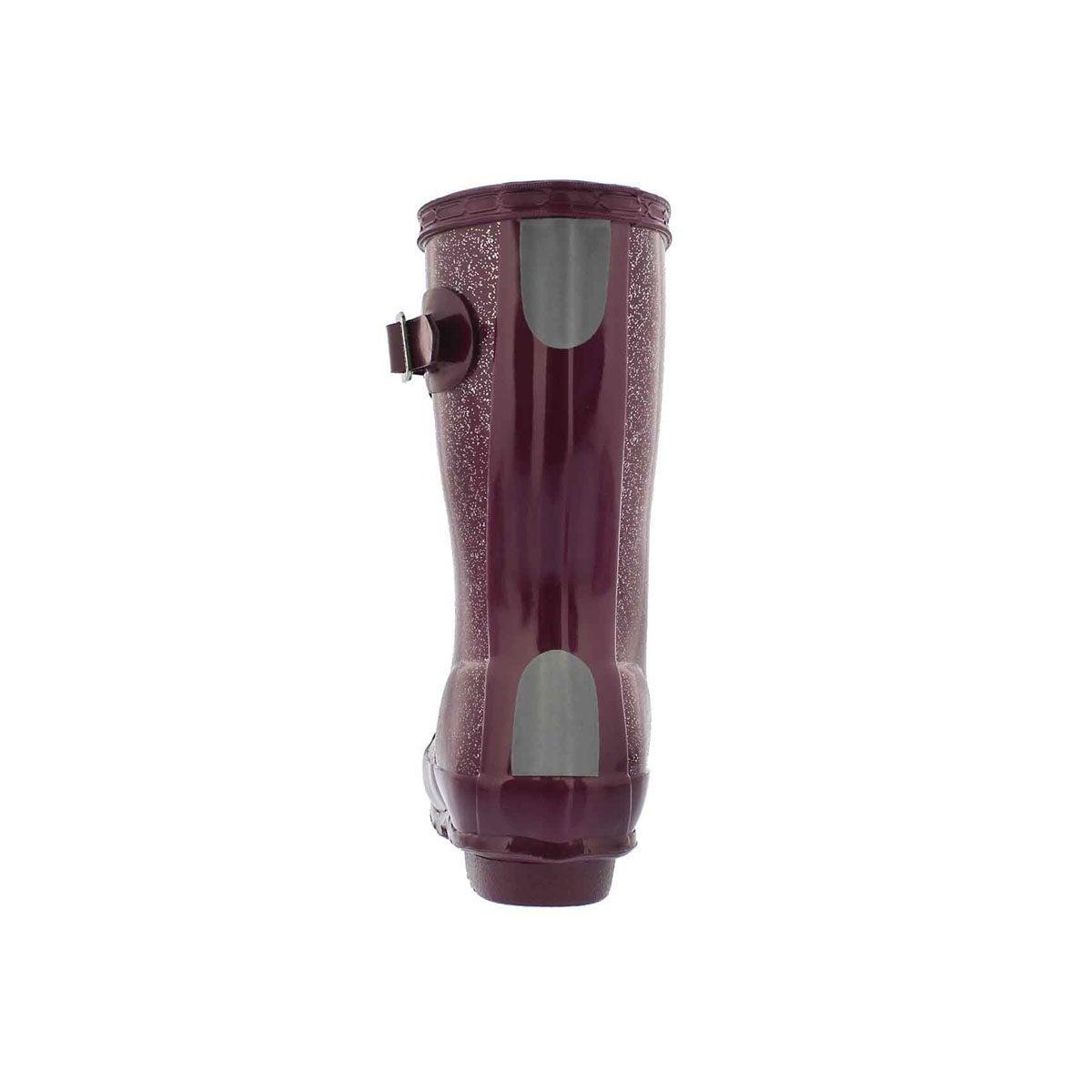 Infs First Classic Glitter vio rain boot