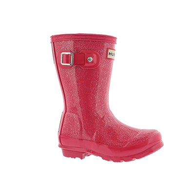 Infs First Classic Glitter pnk rain boot