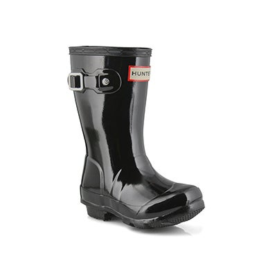 Infs Original Little Gloss blk rain boot