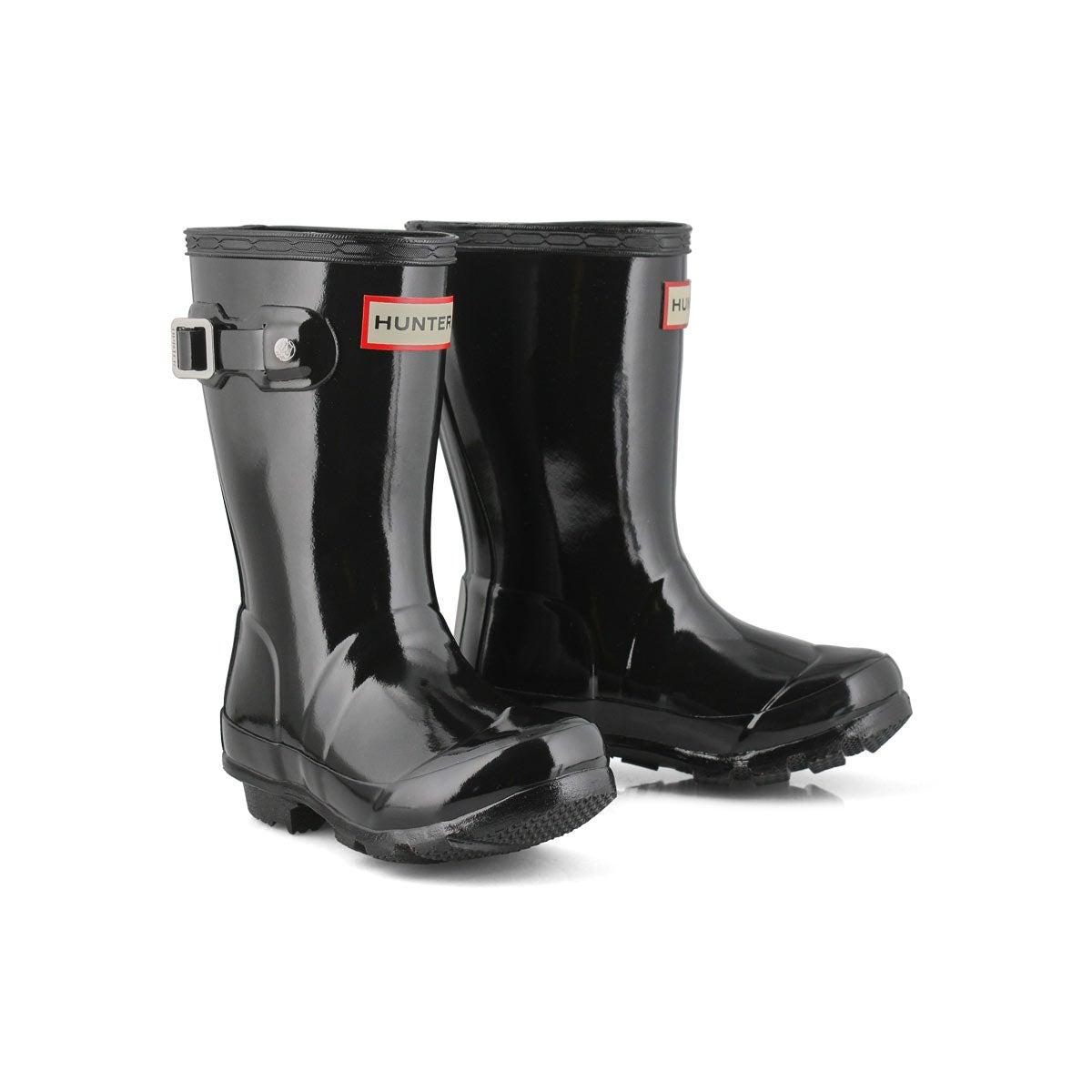Infs Original Little Gloss blk rain boot