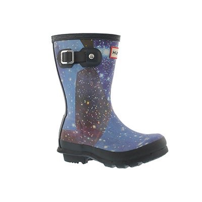 Infs Original Space Camo mdnt rain boot