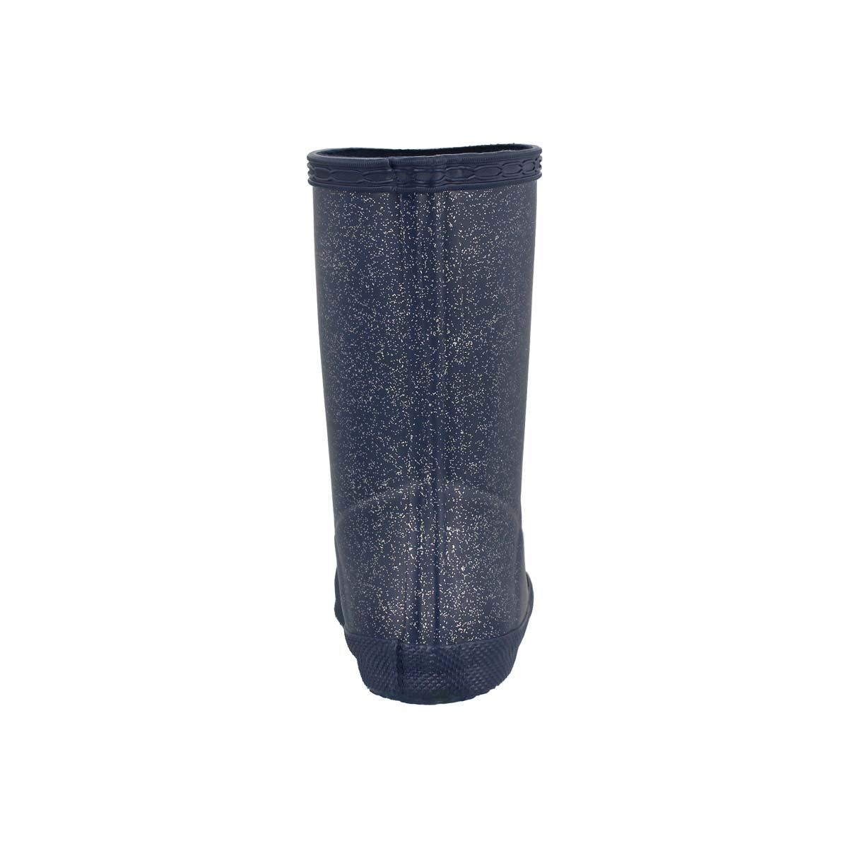 Infs First Glitter dark blue rain boot