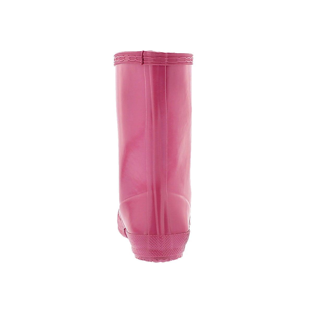 Infs First Classic Gloss pink rain boot