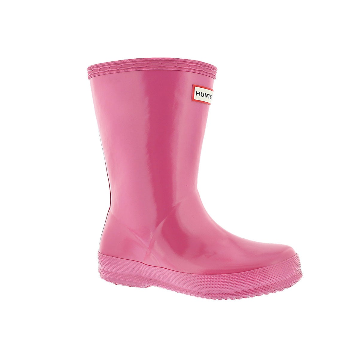 Infants' FIRST CLASSIC GLOSS pink rain boots