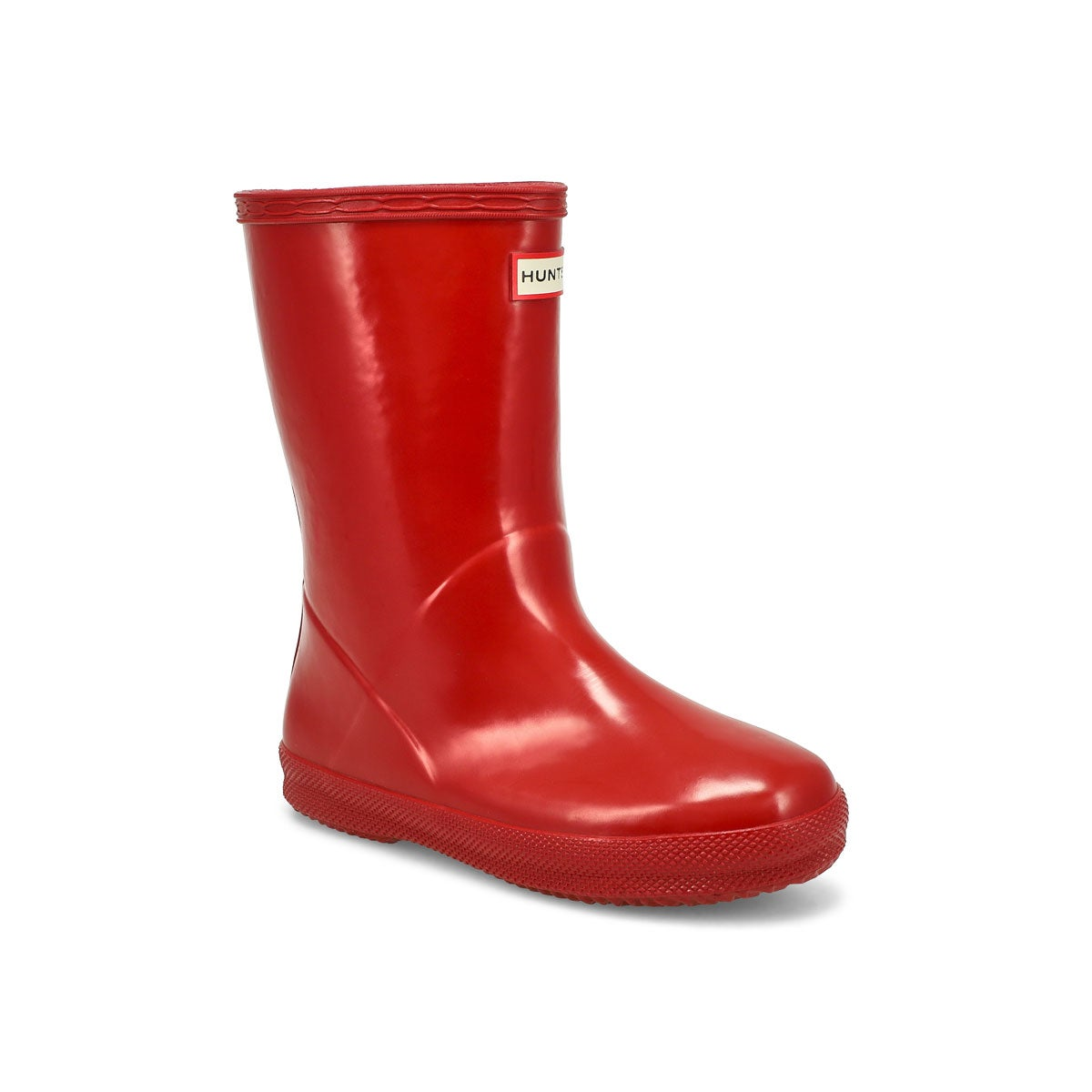 Infants' FIRST CLASSIC GLOSS red rain boots