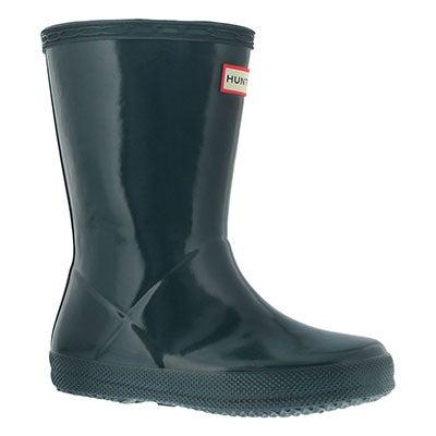 Hunter Infants' FIRST CLASSIC GLOSS ocean rain boots