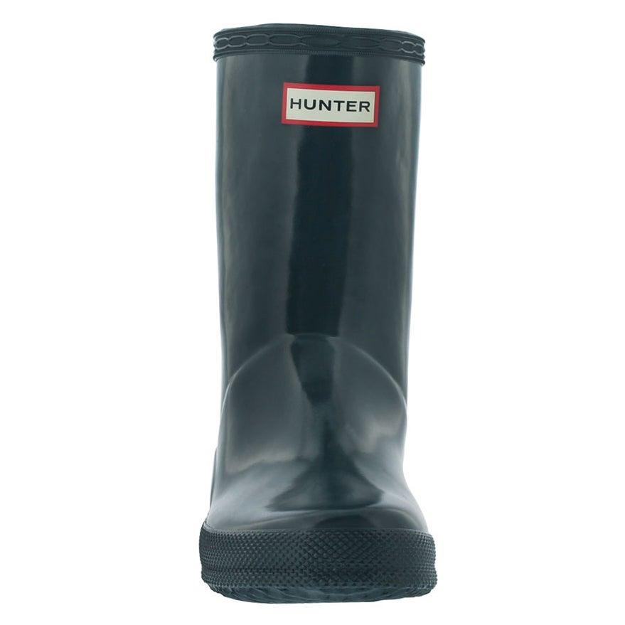 Infs First Classic Gloss ocean rain boot