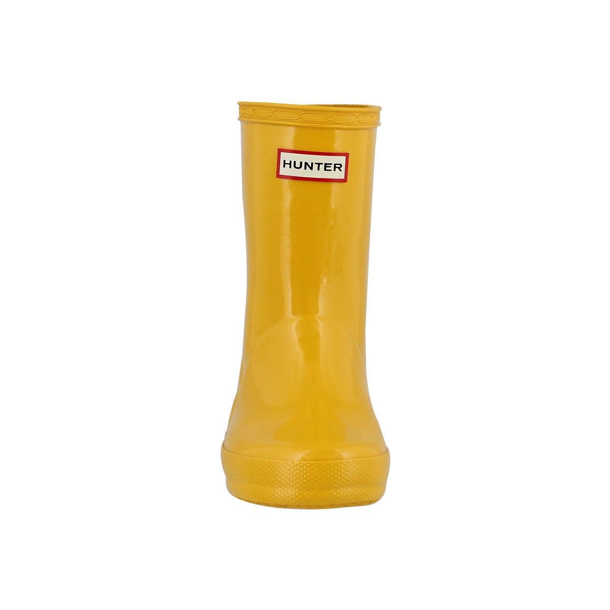 Infs First Classic Gloss ylw rain boot