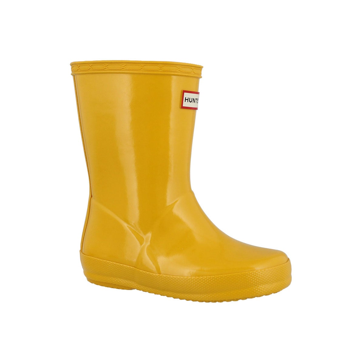 Infants' FIRST CLASSIC GLOSS yellow rain boots