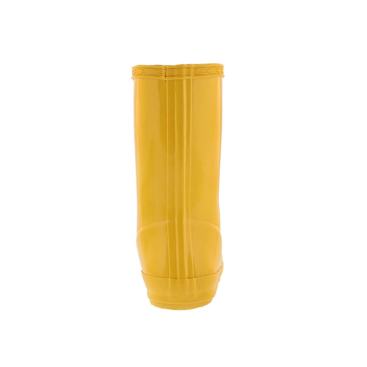 Infs First Classic Gloss yello rain boot