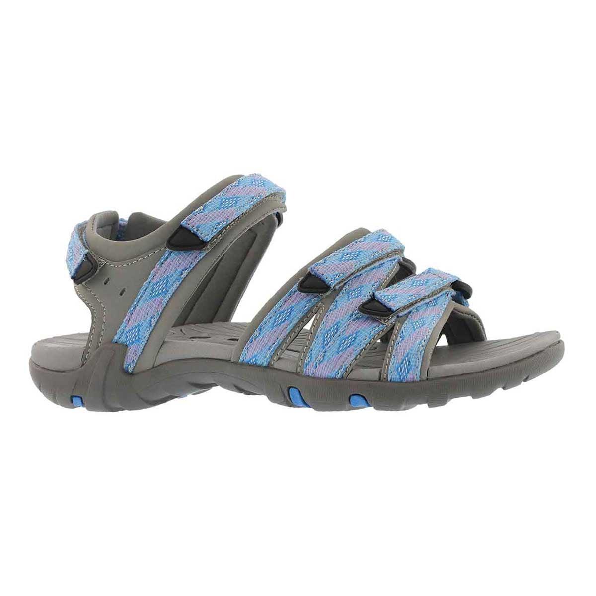 Sandale sport Khaleesi, bleu/ppre, fem