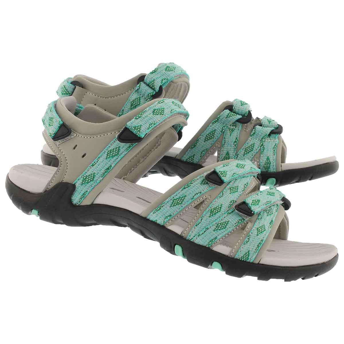 Lds Khaleesi turquoise sport sandal