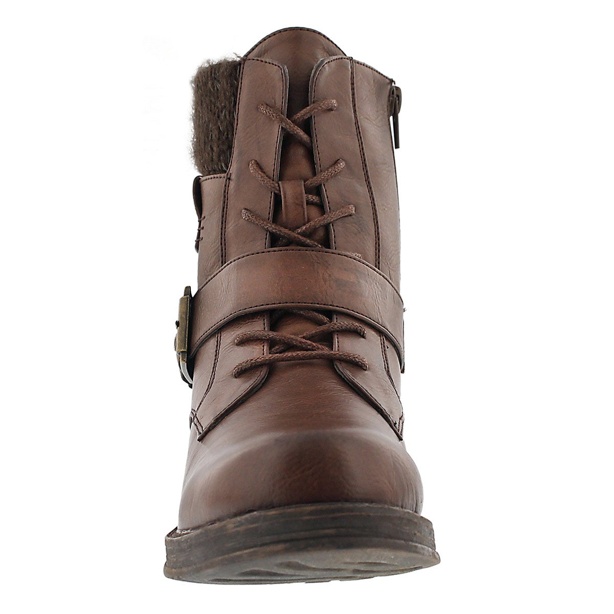 Lds Kiara brn lace up casual boot