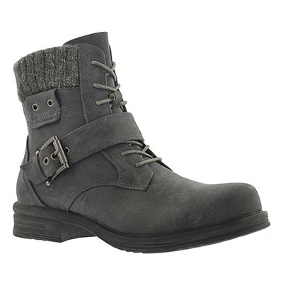 SoftMoc Women's KIARA grey lace up casual boots