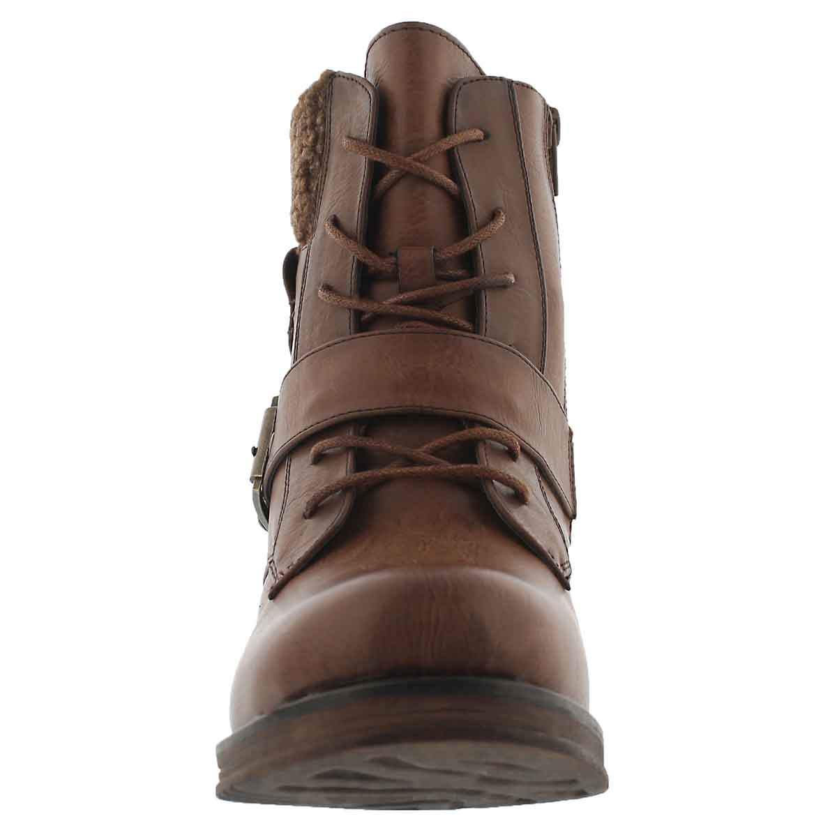 Lds Kiara 2 brn lace up casual boot
