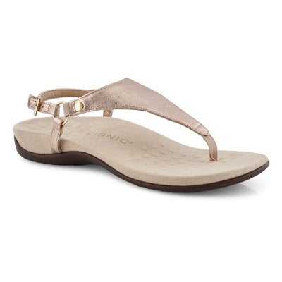 Lds Kirra rsgld arch support thong sndl