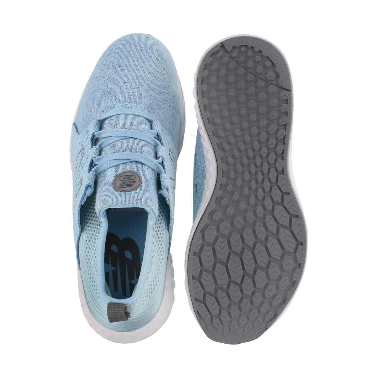 Grls Cruz sky/gunmetal sneaker-wide