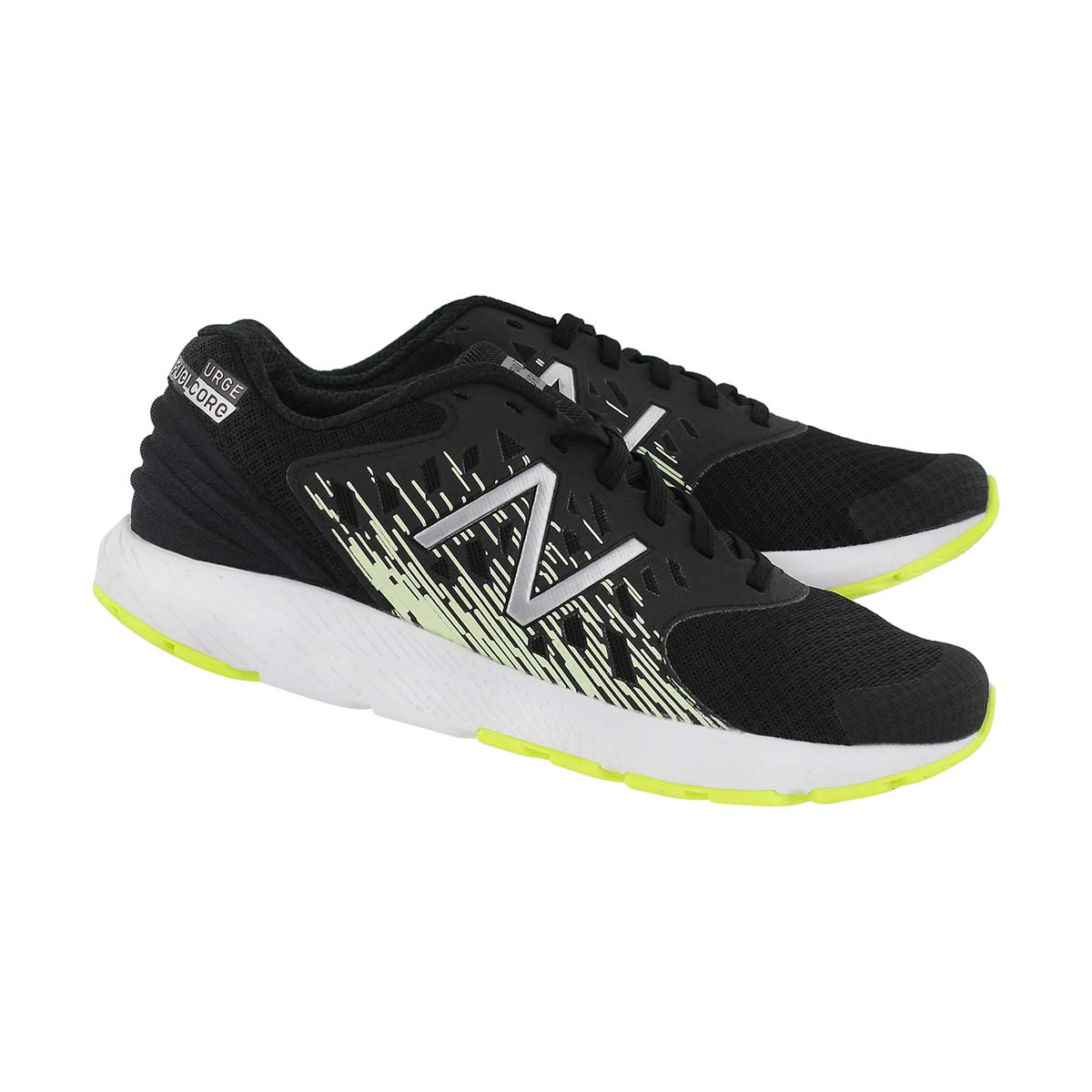 Bys Urge black/glow lace up sneaker