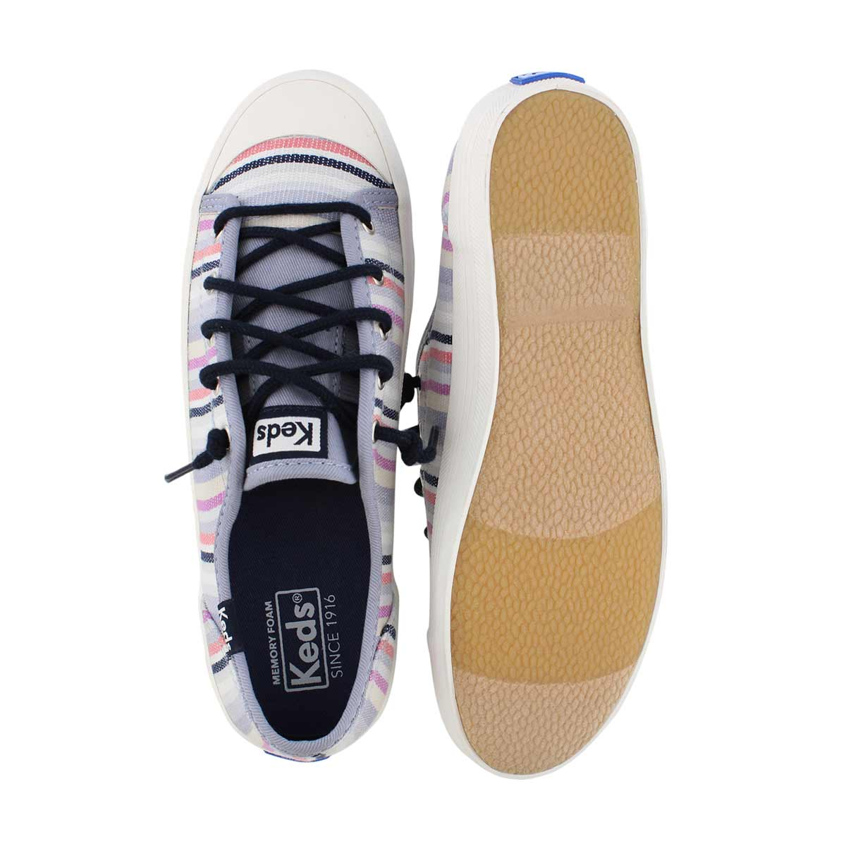 Grls Kickstart Seasonal mlt strp sneaker