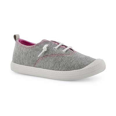 Grls Breaker grey fashion sneaker
