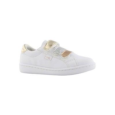 Inf-g Ace 3V wht mtlc fashion sneaker