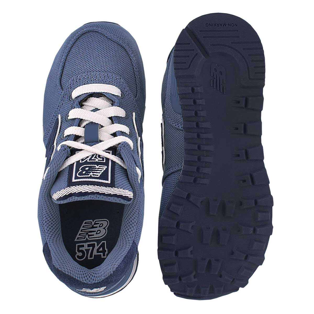 Bys 574 chambray lace up sneaker